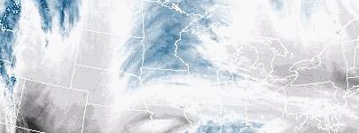 Satellite image of water vapor
